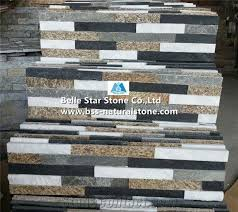 black quartzite white quartzite grey slate tiger skin yellow slate culture stone natural stacked stone stone wall panel multicolor ledgestone z clad stone