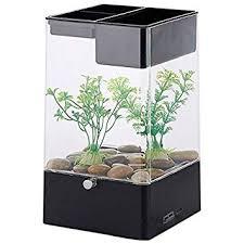 office desk fish tank. Brilliant Desk TOOGOO LED Light Square USB Interface Aquarium Ecological Office Desk Fish  Tank Filter Black  On