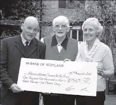 PressReader - The Courier & Advertiser (Angus and Dundee): 2011-08-27 -  Amazing Effie's intrepidi-tay puts £1,500 in charity coffers