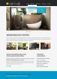 Kitchen Remodeling Templates Home Remodeling Website Template 32842