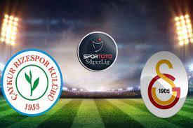 موعد مباراة جالطة سراي وتشايكور ريزا سبور والقنوات الناقلة في الدوري التركي