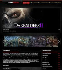 website template video create free video games website templates perfect