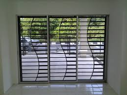 Modern Window Protector Design Modern Sliding Glass Doors House Window Grill Large Sliding