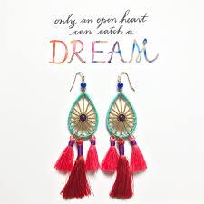 Dream Catcher Stories SequinSayings Let Your Heart Be a Dreamcatcher Sequin 24