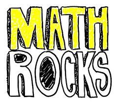 "Image that says ""Math Rocks""."