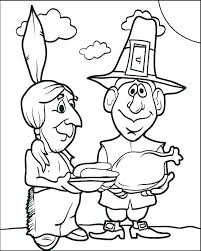 Pilgrim Coloring Pages Printable Free Pilgrim Coloring Pages