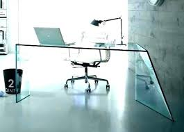 contemporary glass office furniture. Modern Glass Office Desk Home Contemporary Furniture
