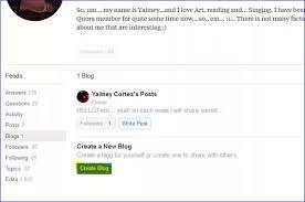 How To Create A Blog How To Create A Blog On Quora Quora