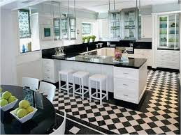 unique black and white kitchen floor tiles home design gallery dark tile inspirational cabinets designs gloss