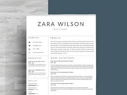 Modern Minimal Resume Template Free Just Resume Template By Resume Templates On Dribbble