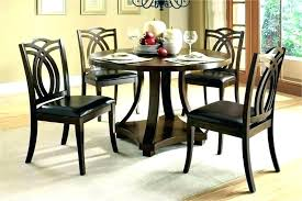 small round dining table and chairs ikea narrow kitchen sets with set w