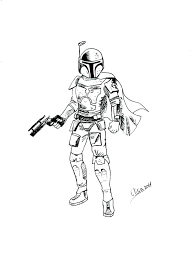 Boba Fett Coloring Page I2704 Coloring Pages Coloring Pages