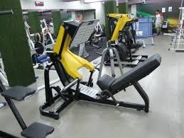 hammer strength machine free weight gym equipment plate loaded machine 45 degree leg