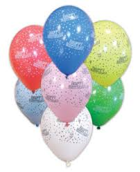 happy birthday pink and green kokliko balloons happy birthday decorata balloons 11 inches