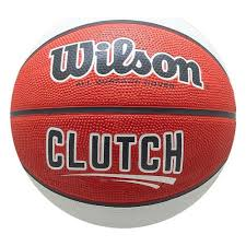 <b>Мяч баскетбольный WILSON Clutch</b>, р.7, резина, красно-бело ...