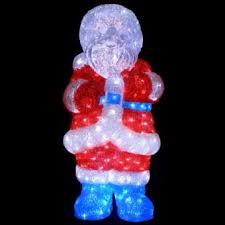 Трехмерная <b>светодиодная фигура</b> Дед Мороз