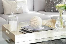 dress up your coffee table