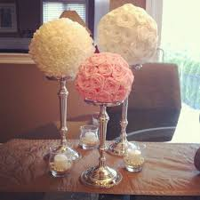Tissue Paper Flower Centerpieces I Used The Same Paper Streamers That Were Used To Make The