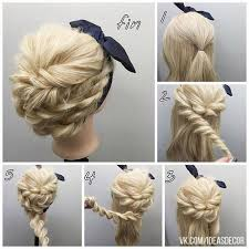 152 best hair step by step ♥❧✾♚❥ღ❣ images on pinterest Wedding Hairstyles Step By Step 15 hairstyles inspired from rope braids pretty designs fancy hairstyles step by step for wedding