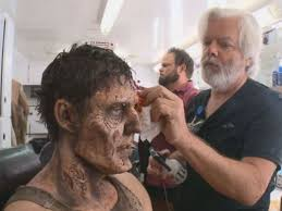 how walking dead cast transforms into terrifying zombies abc news