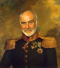 sean connery as a russian military general by steve payne