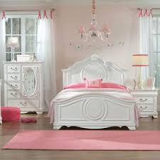 Standard Furniture Jessica 3 Piece Kids' Panel Bedroom Set in White