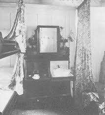 Second Class Double Berth (bed) Cabin. Courtesy Of  Titanicgazette.blogspot.com