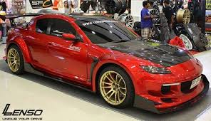 mazda rx8 modified red. image may contain car mazda rx8 modified red 8