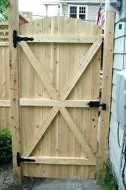 wood fence gate latch door locks lock hardware w95 fence