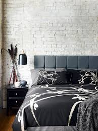 Monochrome Bedroom Design Black White The Essential Ss15 Update Real Homes