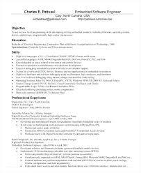 Best Resume For Software Engineer Best Resume Format For Software Engineers Software Engineer Resume