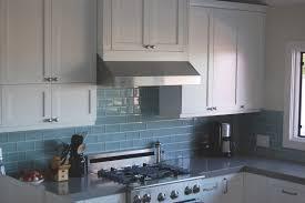Decorative Kitchen Wall Tiles Blue Glass Subway Tile Backsplash Kitchen Down Lights Ceramic