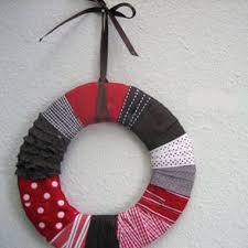 Ribbon Wrapped Wreath