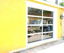roll up glass garage doors door large size of gallery design ideas astounding