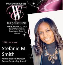 Congratulations to Stefanie Smith '01... - Detroit Country Day School |  Facebook