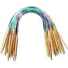 <b>11 Pcs</b> 28mm Multicolour <b>Aluminum Tunisian</b> Afghan Crochet Hook ...