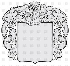 Design A Coat Of Arms Worksheet Coat Of Arms Shield Vector At Getdrawings Com Free For