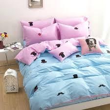 navy and pink bedding pink beard hat children bedding set for girls duvet cover love bedding navy and pink bedding