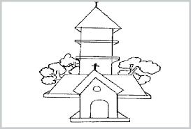 Free Easter Church Coloring Pages Catholic Colouring For Unique Best