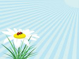 Flower Powerpoint Ladybug Flower Powerpoint Templates Flowers Yellow Free