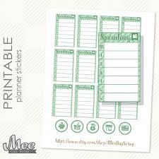 Spending Tracker Printable Mwb Online Co
