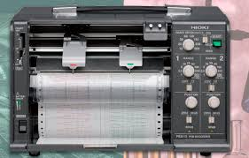 Hioki Chart Recorder Chart Recorder Strip Chart Continuous Trace 150 Mm