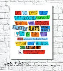 bathroom rules for kids. Wonderful Rules Bathroom Rules For Kids Like This Item Design Software Home Depot Inside Bathroom Rules For Kids T