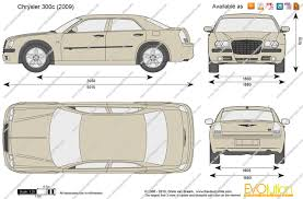 The-Blueprints.com - Vector Drawing - Chrysler 300c
