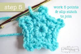 Crochet Star Pattern Free Adorable Crochet Mini Star Applique Free Pattern My Merry Messy Life