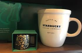 2011 starbucks coffee extra large mug green blue 21.1oz. Starbucks 138 Ounce Giant Abbey Coffee Mug For Sale Thrillist