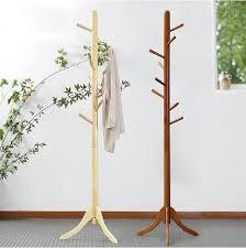 Wood Standing Coat Rack New Wooden Standing Coat Racks Sevenstonesinc