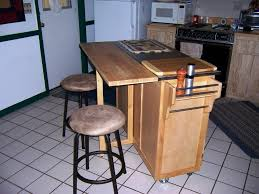 Diy Portable Kitchen Island Kitchen Diy Wood Portable Island For Kitchen With Two Shelves
