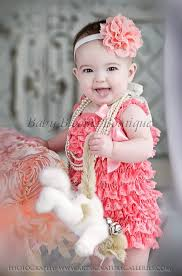 girls baby photos baby headband girl headband peach coral lace headband baby girl