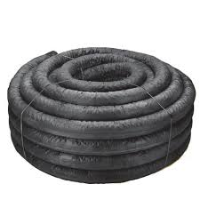 advanced drainage systems 4 in x 100 ft corex drain pipe perforated with sock